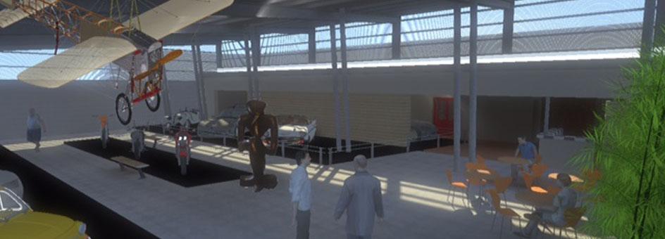Inauguración del Museo Bucci